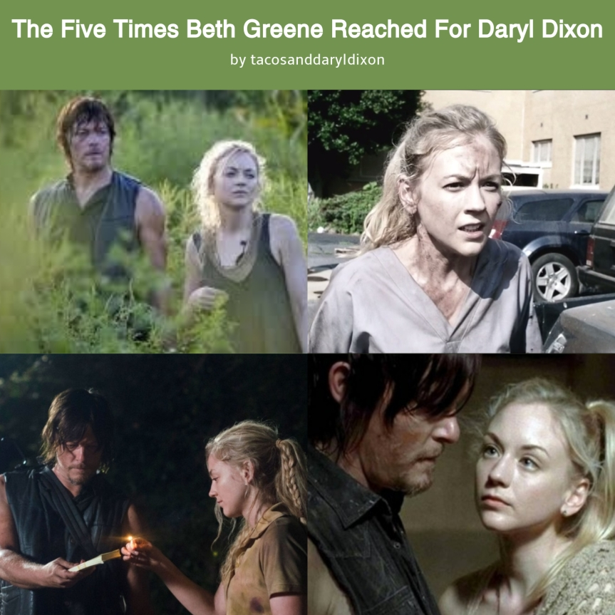 The Five Times Beth Greene