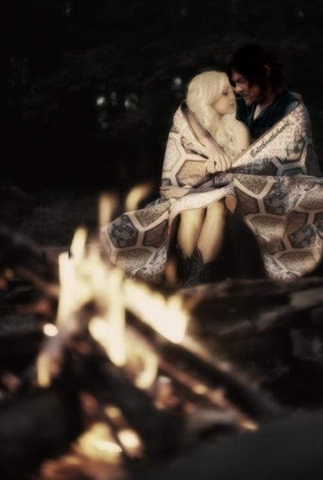 thanksgiving bonfire by Boltthrutheheart